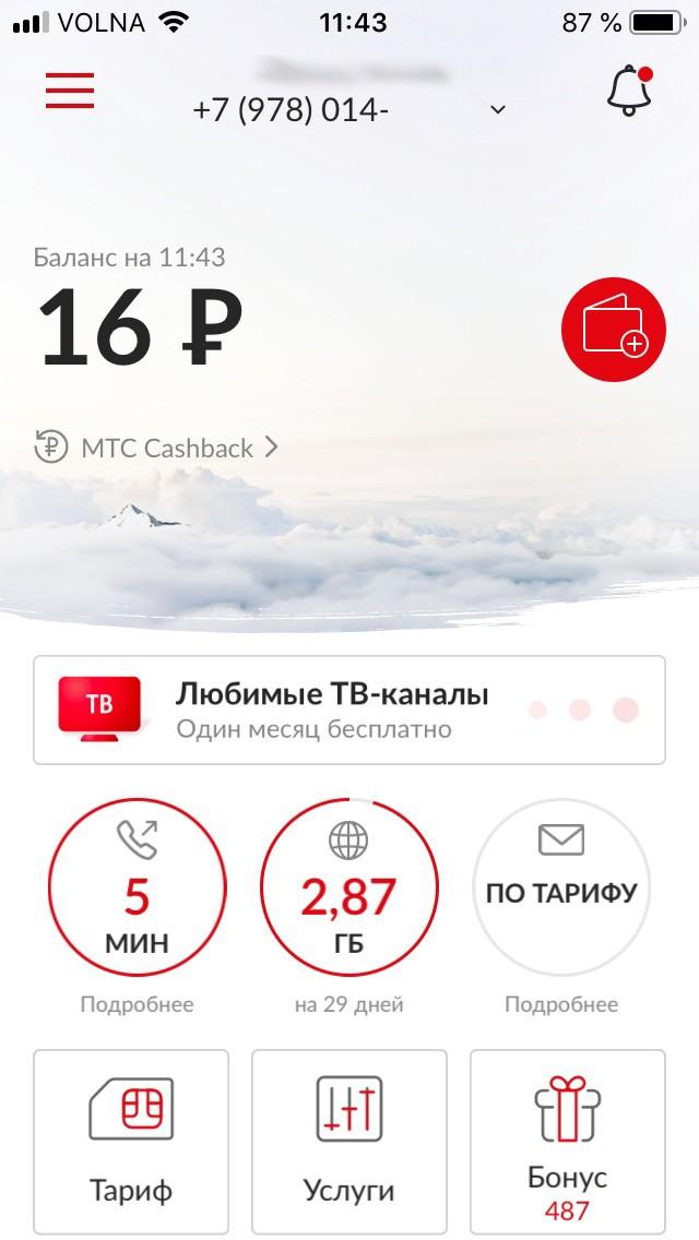 Проверка баланса на МТС с мобильного через USSD