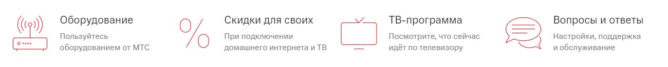 Домашний интернет МТС
